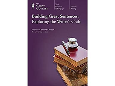 Amazon.com: The Great Courses: Building Great Sentences: Exploring ...