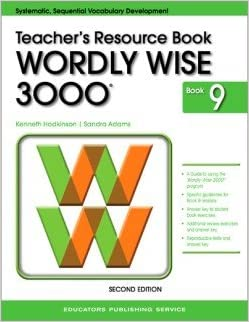 wordly wise 3000 grade 9 teacher resource book 2nd edition