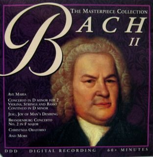 (Masterpiece Collection: Bach 2)