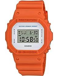 G-Shock Unisex DW-5600M-4CR Orange Watch