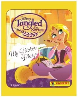 50 Packs Of Stickers Disney Tangled The Series Panini Full Booster Box