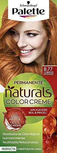 Schwarzkopf Palette Naturals Color Creme - Tono 8.77 cabello ...
