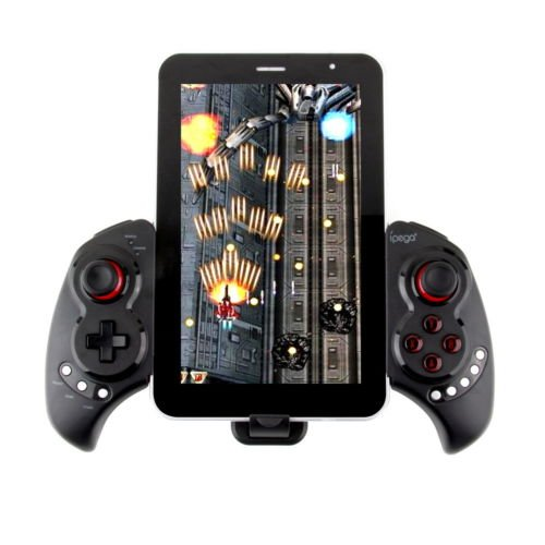 Alicenter(TM) Wireless Controller Bluetooth Gamepad Joystick for iOS Smart Phone Tablet