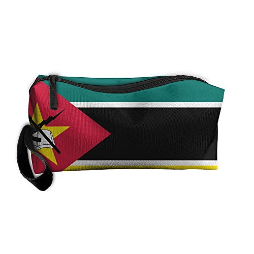 Mozambique Magnificent And Beautifulflag Pattern Makeup Bag Printing Girl Women Travel Portable Cosmetic Bag Sewing Kit Stationery Bags Funny Storage Pouch Bag Multi-function Bag