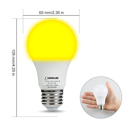 Lohas Bug Light Bulb Yellow Led Bulbs Outdoor Porch