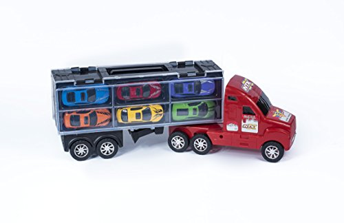 Large Toy Trucks For Boys : Quot massive rig automobile service transport truck toy