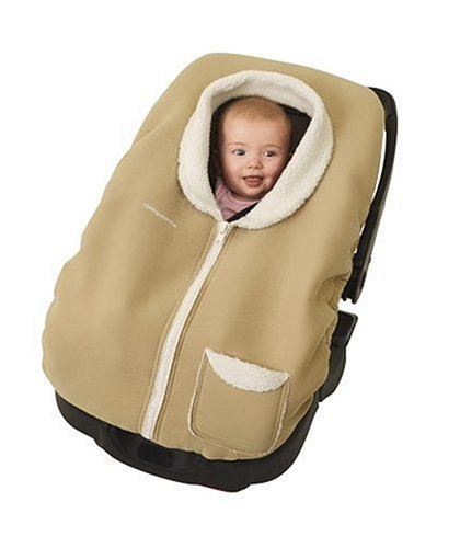Tiny Love Faux Shearling Posh Pouch Infant Car Seat Cover