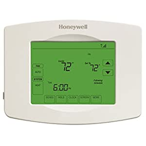 Wi-Fi 7 Day Smart Programmable Touchscreen Thermostat, Works with Amazon Alexa, SmartThings, Google Home, IFTTT