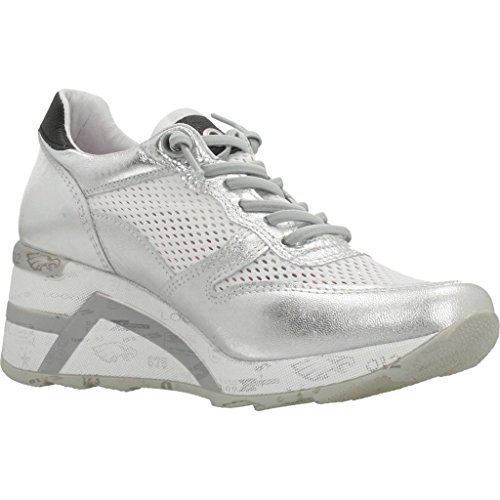 0ff0e7565bd20c Cetti Damen Sneaker C1145-PLATA Silber 489624  Amazon.de  Schuhe    Handtaschen