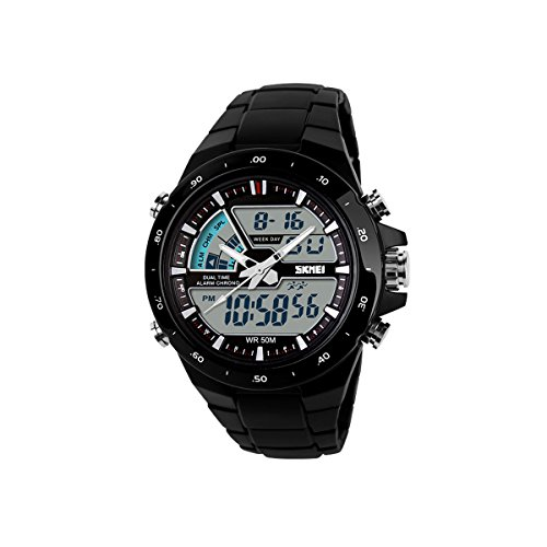 Military Watch Army Police Waterproof Outdoor Quartz Digital Sport Glow For Men Women Casual Wrist Watcher
