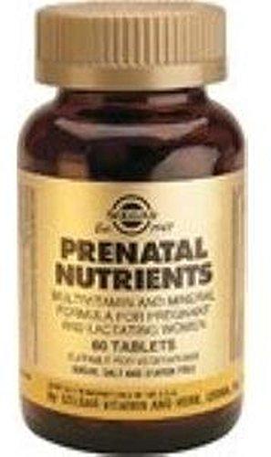 Nutrientes Prenatales 60 comprimidos de Solgar