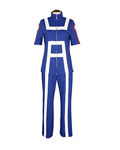Miccostumes Women's Hero Academia U A High School Gym Suit Cosplay Sportswear (WS)