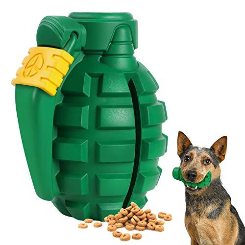 G.C Hund Kauspielzeug, Hundespielzeug Große Hunde, unzerstörbar Zahnpflege Lebensmittelball Spielzeug , Granate…