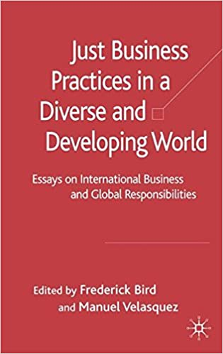 just business practices in a diverse and developing world essays on  just business practices in a diverse and developing world essays on international  business and global responsibilities th edition