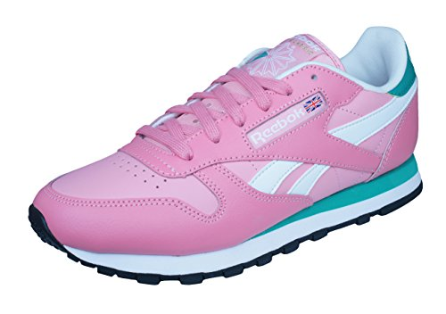 Reebok Classic Womens Leather Seasonal 2 Casual Fashion Running Trainers Shoes Pink