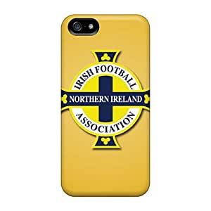 Bumper Hard Phone Covers For iphone 6 4.7 With Unique Design Beautiful Northern Ireland Football Logo Pictures SherriFakhry