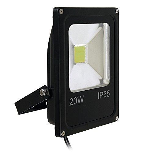 S.ELECT088 20-Watts Rectangular Flood Light, White, Pack of 1