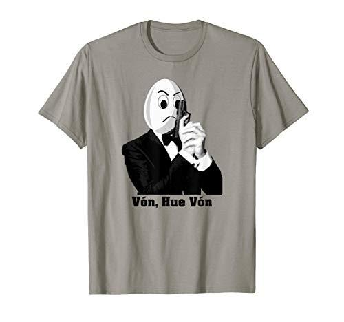 (Hue Von T-shirt - Spy Egg Wearing Suit Tuxedo +)