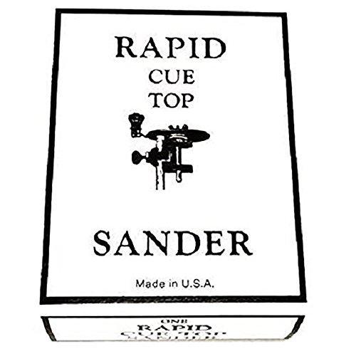 Tweeten Rapid Cue Tip Tool Sander Ferrule Repair Pool Billiard Cue Stick
