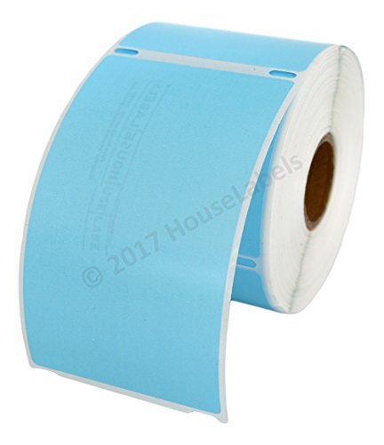 Ships Fast 6 Rolls; 300 Labels per Roll of DYMO-Compatible 30256 Blue Large Shipping Labels (2-5/16 x 4) - BPA Free!