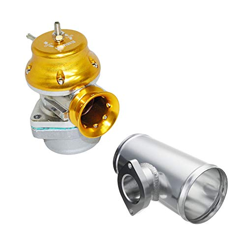- Gold RS Style Universal Billet Blow off valve and Greddy Type S RS Flange 3