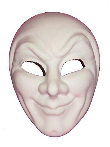 Venice Buys Venetian Masks Blank White Joker Grezzo Venetian Masquerade Mask for Decorating -
