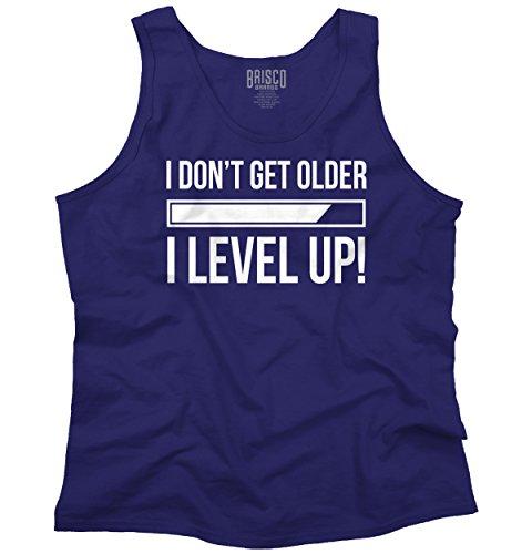 Dont Get Older Level Up Funny Shirt PC Gamer Gaming Gift Cool Tank Top - Lara Croft Top Tank