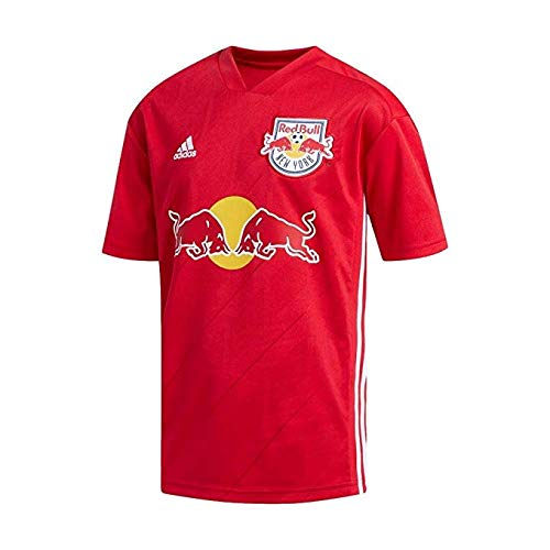 Red Embroidered Football Jersey - adidas Youth Soccer New York Red Bulls Away Jersey (Youth Large)