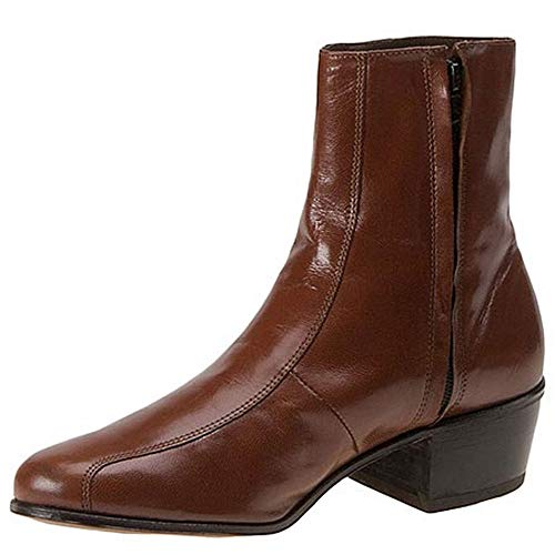 Boot Side Gold Dress Zip Men's Florsheim Duke F6CfBq
