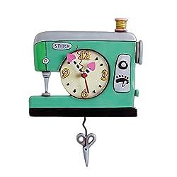 Allen Design Studios Stitch Resin Wall Clock