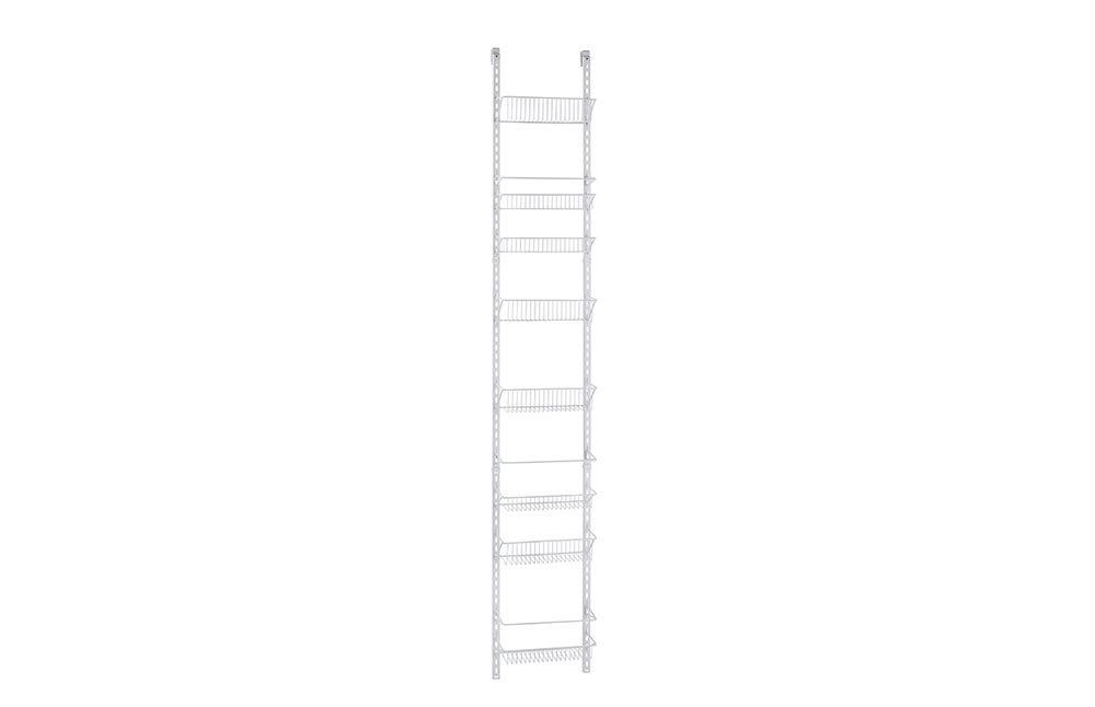 ClosetMaid 1231 Adjustable 8-Tier Wall and Door Rack, 77-Inch Height X 12-Inch Wide