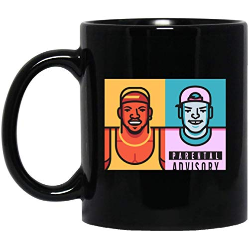 ZEN DEAL - Basketball WHITE MEN CAN'T JUMP Basketballauto 11 oz. Black Mug