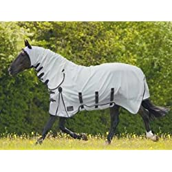 Shires Sweet-Itch Combo Fly Sheet (White, 78)