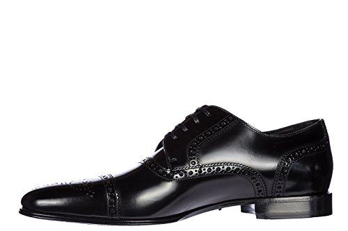 Dolce & Gabbana Scarpe Stringate Classiche Da Uomo In Pelle Classica Correggio Derby B