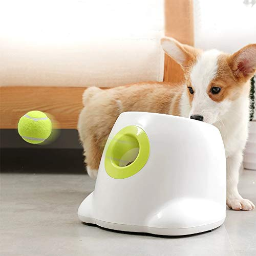 AFP Automatic Ball Launcher Dog Ball Thrower Machine Hyper Fetch Tennis Ball (Mini-New2)