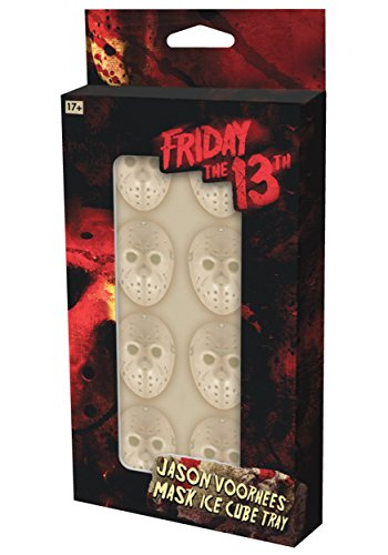 Friday the 13th Jason Voorhees Mask Ice Cube Tray]()