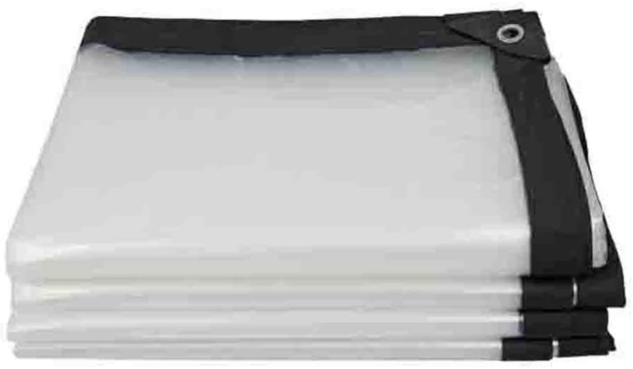 ANUO Super Strength Klar Poly Tarp High Density-Abdeckfolien wasserdichte Plane Camping Color : Clear, Size : 1x1m//3x3ft
