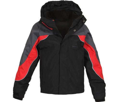 Bergson Kinder Outdoorjacke 3in1 Doppeljacke Dobby