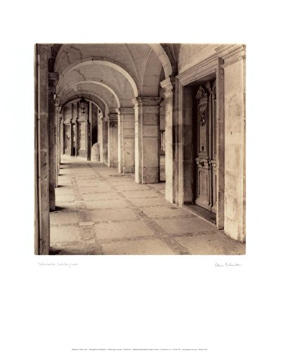 Salamanca, Castilla y Leon Art Print by Alan Blaustein 16 x 20in with Poster (Archway Poster Print)