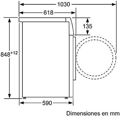Siemens Lavadora Carga Frontal WM12T487ES: 397.8: Amazon.es ...