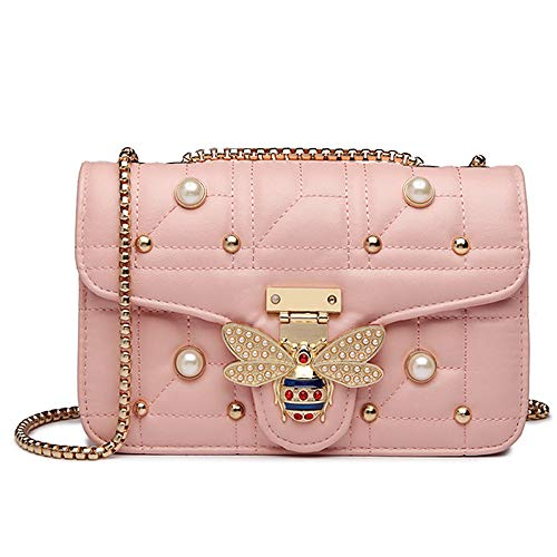 - Beatfull Bee Shoulder Bag for Women, Elegant Handbag Crossbody Bag with Pearl