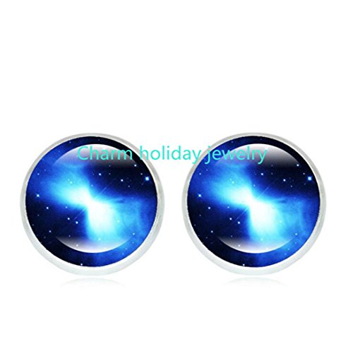 Galaxy earrings, Space jewelry, Nebula earrings, Galaxy jewelry, Universe, Christmas gift, Night Sky, Nebula jewelry, Cosmic (Simple Space Themed Costumes)