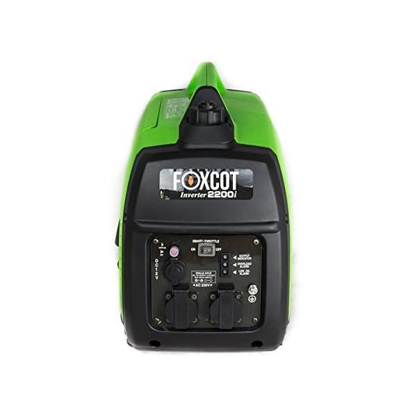 Generatore di Corrente Inverter 2,2 KW Foxcot GT-2200i silenziato 3 spesavip