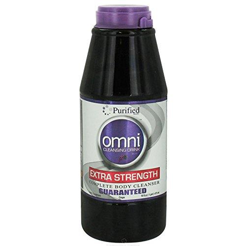 Purified Omni Cleansing Drink Grape 16 Fl Oz