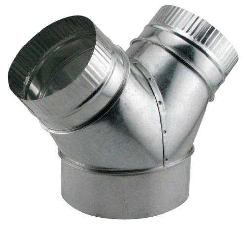 8 inch duct y - 1