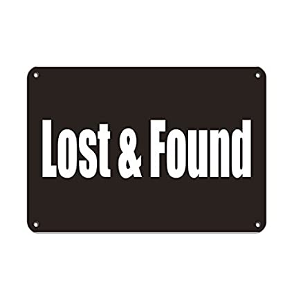amazon com bob sign lost found business sign lunch room and break