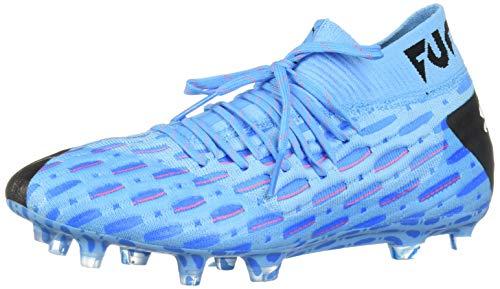 PUMA Mens Future 5.1 Netfit Firm Ground Artificial Grass Soccer Cleats – Azul