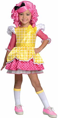 [Lalaloopsy Deluxe Crumbs Sugar Cookie Costume (Small)] (Lalaloopsy Adult Costumes)