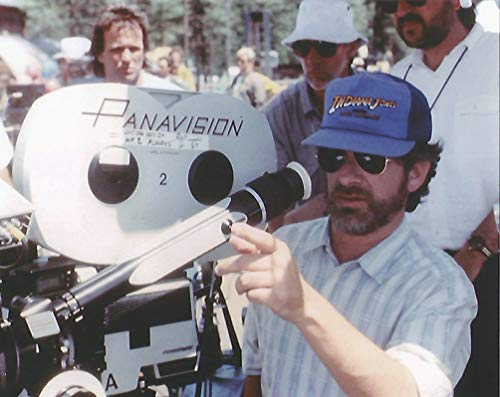 Steven Spielberg Indiana Jones behind movie camera 8 x 10 inch Photo