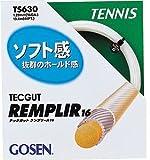 GOSEN(ゴーセン) テックガット ランプリール 16 ホワイト